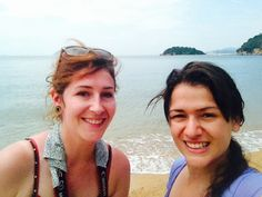 Swimming in Naoshima !