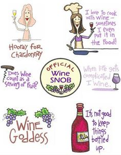 OregonPatchWorks.com - Sets - Wine Humor