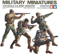 Buy Tamiya U. Army Infantry Set Model Kit at Mighty Ape NZ. This is a Plastic Set of Four U. Army Infantry Military Miniatures Specifications & Features: Small plastic parts are attached to sprue.