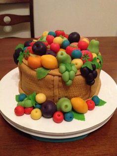 Fondant Fruit Cakes | Fruit Cake Images