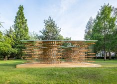 Five Line Projects builds pavilion filled with spinning propellers