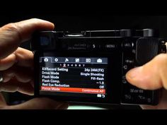Sony a6000, A7 Quick Tip - How to Auto Focus your Camera in Low Light