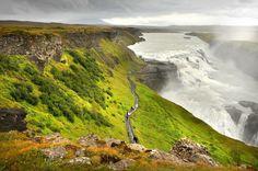 Gulfoss (Golden Waterfall), Iceland
