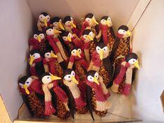 Tárt karok: Karácsonyi apróságok- Toboz pingvinek