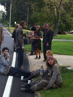 The Walking Dead, Behind the scenes