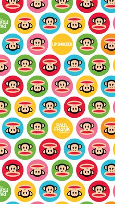 #Logo #Frank #Paul #Brands #Patterns Paul Frank Pattern