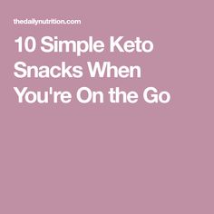Keto snacks are a great way to ensure you stay in ketosis when doing keto. These 10 keto snacks work well when you're on the go. Snacks For Work, Healthy Work Snacks, Keto Snacks, Healthy Foods, Healthy Eating, Ketogenic Diet Plan, Ketogenic Recipes, Keto Recipes, Ketogenic Lifestyle