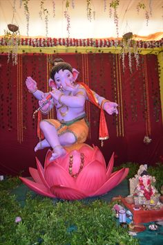 Ganesh Chaturthi Photos, Happy Ganesh Chaturthi Images, Shri Ganesh Images, Ganesha Pictures, Ganesh Idol, Ganesha Art, Ganesh Wallpaper, Angel Wallpaper, Ganpati Bappa Photo