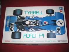 Tamiya Tyrrell Ford Model No BS 1209 Partially Assembled for Parts or Project Hobby Kits, Tamiya, F1, Toys, Projects, Model, Ebay, Vintage, Activity Toys