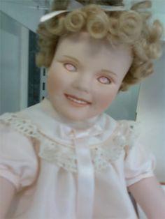 CREEPY doll moment