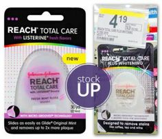 Reach Floss, Only $0.09 at Walgreens!