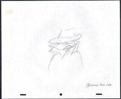 Tiny Toons Daffy Duck Warner Brothers Production Animation drawing 1989 2*