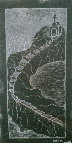 Gravures sur pierre ‹ Michel Paris • Sculpteur/Peintre/Photographe/Tailleur de pierre