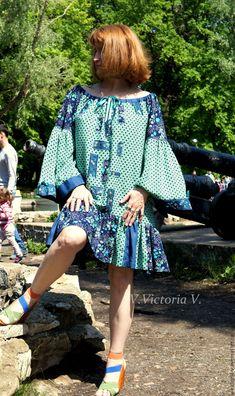 """Купить Бохо-платье """"Изумрудная сказка"""" - бохо, Бохо платье, бохо стиль, бохошик, хиппи"""