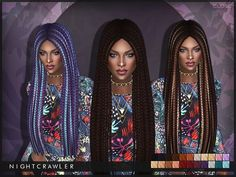 Close hair by Nightcrawler at TSR • Sims 4 Updates