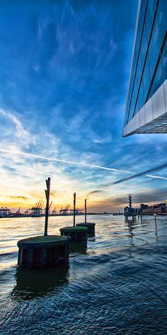 Hamburg Foto Dockland Elbe | Bildschönes Hamburg