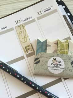 Page Flags / Target Dollar Spot Inspired / Planner / Erin Condren / Page Marker by PugPaperCo on Etsy https://www.etsy.com/listing/265318409/page-flags-target-dollar-spot-inspired