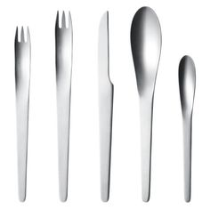 Georg Jensen Arne Jacobsen 5-piece Steel Cutlery Set - Canopy is Amazon, curated. Use Canopy to discover the most useful, beautiful, and well-designed products on Amazon.