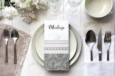 Light table Card Mockup. PSD  @creativework247