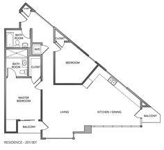 Triangle house floor plans - House decor