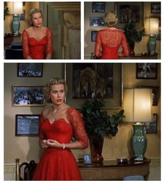 Grace Kelly, Dial M for Murder. Costumes by Moss Mabry.