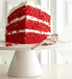 Red Velvet Cake from the Better Homes and Gardens Must-Have Recipes App