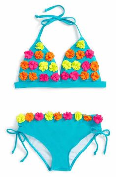Limeapple Galene Two-Piece Swimsuit (Big Girls)