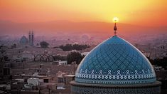 Wallpaper Yazd, Iran, Islam, Sunset, Islamic Architecture Beautiful Mosques, Beautiful Places, Beautiful Buildings, Beautiful Landscapes, The Places Youll Go, Places To Visit, Visit Iran, Iran Travel, Islamic Architecture