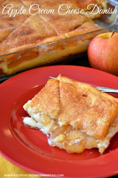 Apple Cream Cheese Danish  |  Recipes For Our Daily Bread