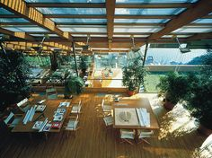 workspaces - Renzo Piano's office in Punta Nave | via...