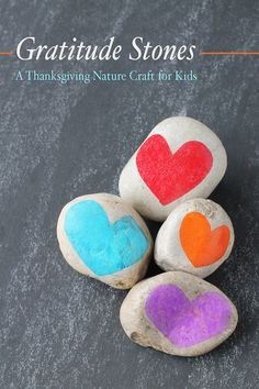 Art therapy activities thanksgiving Gratitude Stones: A Thanksgiving Nature Craft for Kids Art Therapy Activities, Activities For Kids, Crafts For Kids, Arts And Crafts, Primary Activities, Counseling Activities, Family Crafts, Rock Crafts, Indoor Activities