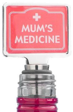 Mums Medicine Novelty Bottle Stopper « Buy from thegadgethut.co.uk