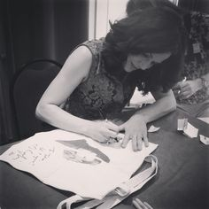@Lanaparrilla is the second guest to be signing. #Signingparty #FairytalesIII #FT3 #Xivents