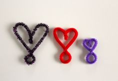 I'm on a pipe cleaner kick (well, I'm always on a pipe cleaner kick). But we're extending the Heart-Shaped Goggles from last week to create a few fun mini heart rings. Be prepared, these are addicting. A few twists and you've got some quick bling. These would be perfect to add to Valentines. Supplies for …