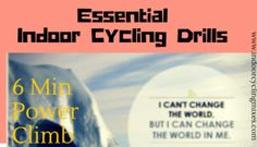 Indoor Cycling Drills