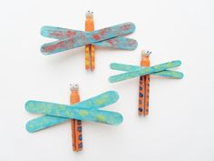 Earth Day Fun, Craft Kits for Kids, Birthday Party Favors, Earth Friendly Dragonfly Family $5.25 http://www.etsy.com/listing/92888905/earth-day-fun-craft-kits-for-kids