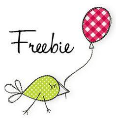Doodles Freebie  Machine Embroidery #stickbaer