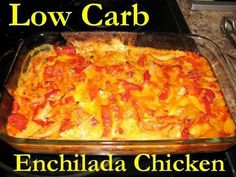 Low Carb Enchilada Chicken Paillard - Induction Friendly 5.2 net carbs per serving,  (Paillard is a method of cooking that pounds the meat flat, which tenderizes it and speeds cooking time.