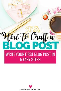 These are effective steps to make writing a blog post easy. #writingprocess #blogpost #bloggingtips via @shembandoy