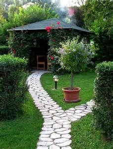 garden arbor with vines growing