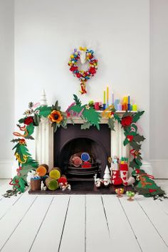 get crafting with paper and card and create your own Christmas feature