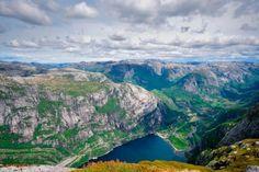 Lysefjord Mountain, Kjerag, Norway