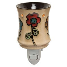 Ashbury Plug-In Scentsy Warmer  I love the Scentsy Ashbury Premium Full Size Warmer!  Now we have the Scentsy Ashbury Plug-In.  Scentsy Plug-Ins are perfect for bathrooms and smaller room such as bedrooms.  You should only warm one Scentsy Wax Cube at a time in a Scentsy Plug-In Warmer.
