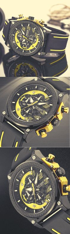 MEGIR Watches, the leading manufacturer of sophisticated, military and tactical watches worldwide, MEGIR proudly introduces this special collection of rugged and dependable timepieces. After years of development, MEGIR has unveiled these exclusive militar Dream Watches, Sport Watches, Luxury Watches, Cool Watches, Rolex Watches, Watches For Men, Tactical Watch, Rugged Style, Watch Model