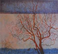Victoria Crowe - Printmaker at the Scottish Gallery, Edinburgh Forest Art, Tree Forest, A Level Art, National Portrait Gallery, Gcse Art, Photo Tree, Modern Landscaping, Landscape Paintings, Landscapes