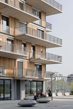 """Preis Kategorie Neubau: Wohnhaus """"Wohnprojekt Wien"""", einszueins architektur Bayer und Zilker Baukünstler OEG, RWT PLUS ZT GmbH, raum & kommunikation GmbH, © Hertha Hurnaus"""