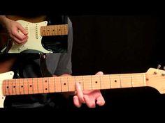 The Eagles - Hotel California Guitar Lesson Pt.2 - Electric Guitar Rhythms - YouTube
