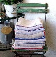 grain sacks~always available at American Home & Garden in Ventura CA