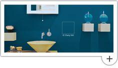 Transforma tu baño, ponle color. Con estos cuatro ejemplos: ¡mira como cambia! http://www.comex.com.mx/content/Comex/Html/Images/sensaciones_online/descargables/Cambio_instante.pdf