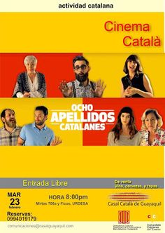 Queridos amigos les recordamos que mañana tenemos Cinema Català